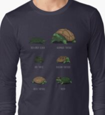 Know Your Turtles Long Sleeve T-Shirt