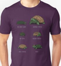 Know Your Turtles Unisex T-Shirt