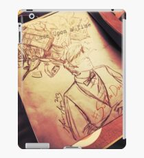 #SaveTheDay Sketches - The Era Eleven iPad Case/Skin
