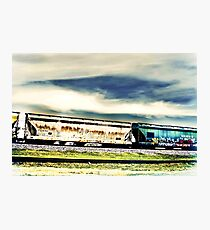 Old things in a modern world. Photographic Print
