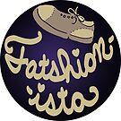 Fatshionista (Round) by Alex Heberling