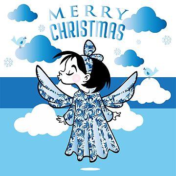 Blauer Engel von LenaLime