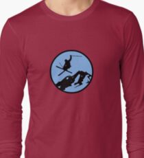 skiing 3 Long Sleeve T-Shirt