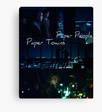 Paper Towns Canvas Print