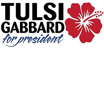 Tulsi Gabbard for President 2020 by codyjoseph