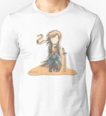 The Journey by Mary Oliver - [A Scribble] Unisex T-Shirt