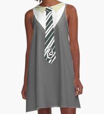 Tie S A-Line Dress