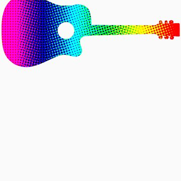 Halftone Psyche Acoustic by geekmorris