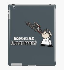 Horrible's Laboratory iPad Case/Skin