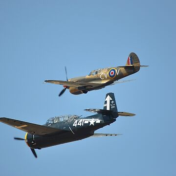 Jamestown Airshow 2018- Kittyhawk & Avenger by muz2142