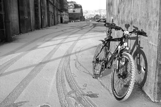 space for one's bike by rorycobbe