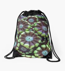 Alveopora coral Drawstring Bag