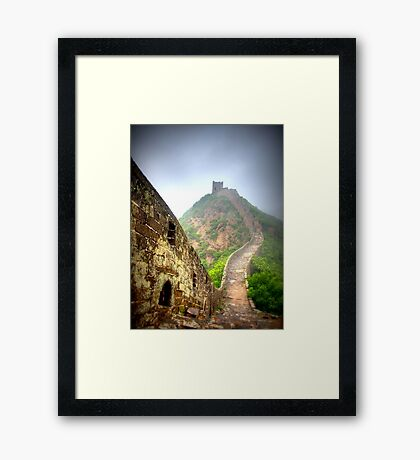 The Great Wall of China Framed Print