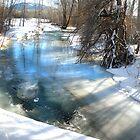 Frozen Creek by kayzsqrlz