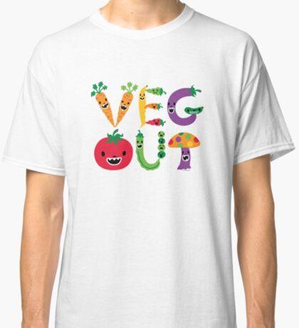 Veg Out - light colors Classic T-Shirt