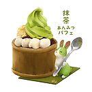 Matcha Anmitsu Parfait - Japanese var by maygreen