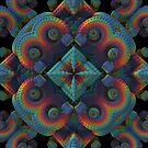 Decorative Three Dimensional Pattern by Lyle Hatch