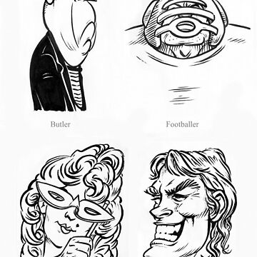 Caricature Sketches 2 by newfeenix
