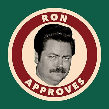 Ron Approves by droppedpiano