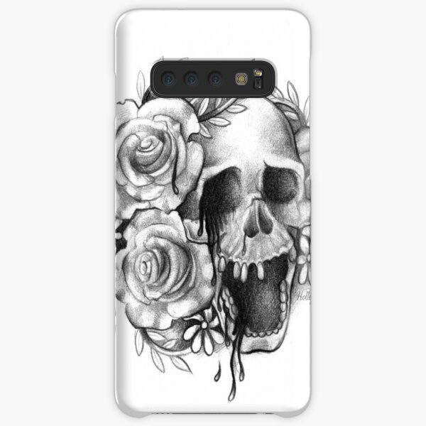 Weeping Skull and Roses Samsung Galaxy Snap Case