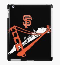 San Francisco Giants Stencil White iPad Case/Skin