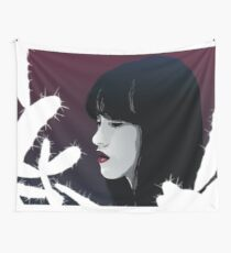 Emotional Portrait Wall Tapestry