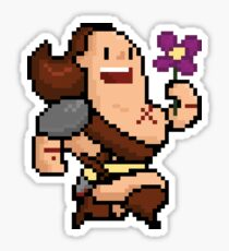 The Merry Barbarian Sticker