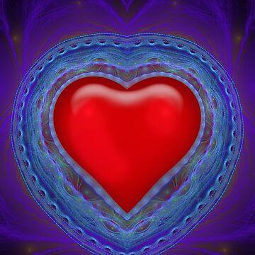 Fractal Heart #1 by tnelson612