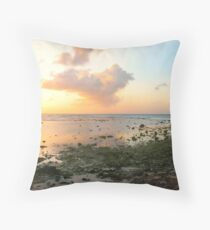The Serenity of Twilight Throw Pillow