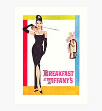 Breakfast At Tiffany's Poster Art Print