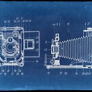 Blueprint of an antique camera by TheMaker