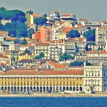 Lisbon. view from Tejo river. by terezadelpilar