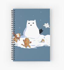 Snowcat Spiral Notebook