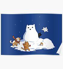 Snowcat Poster