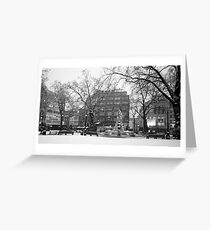 Leicester Square Snow Greeting Card