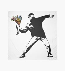 Pañuelo Banksy - rabia, lanzador de flores