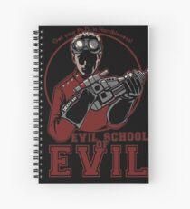 Dr. Horrible's Evil School of Evil Spiral Notebook