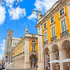 Praça do Comércio. Lisboa by terezadelpilar ~ art & architecture