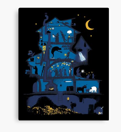 Wizard's Castle Canvas Print
