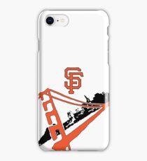 San Francisco Giants Stencil iPhone Case/Skin