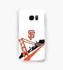 San Francisco Giants Stencil Samsung Galaxy Case/Skin