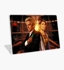 Doctor Who - The Twelfth & Thirteenth Doctor Laptop Skin