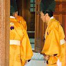 Shinto Priests by Tomoe Nakamura