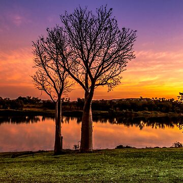 Sunset, Kununurra by JuliaKHarwood