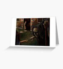 Deceiving the Witch Greeting Card