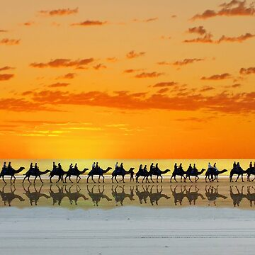 Cable Beach, Broome by JuliaKHarwood