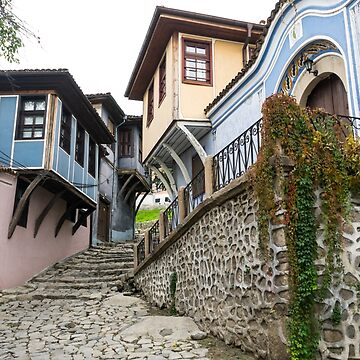 Hugging the Narrow Streets - Old Town Plovdiv Fabulous Revival Houses by GeorgiaM