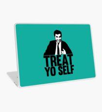 treat yo self Laptop Skin