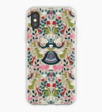 Scandinavian Girl iPhone Case