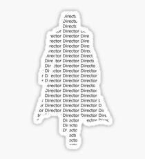 Director Fury Sticker